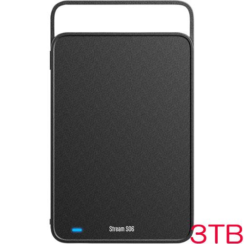 シリコンパワー SP030TBEHDS06A3KTV [USB3.0対応 Stream S06 3.5インチ外付HDD 3TB]