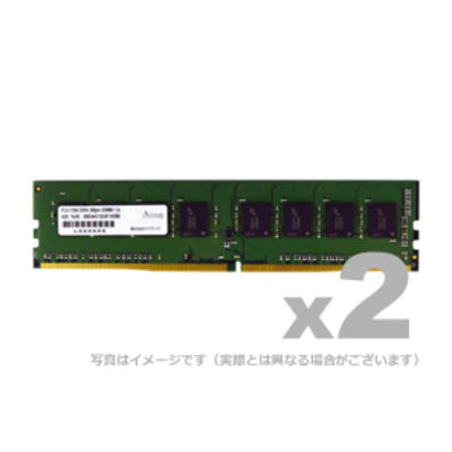 アドテック ADS2133D ADS2133D-4GW [DDR4-2133 288pin UDIMM 4GB×2]