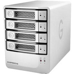 HGST 0G03007 [G-SPEED Q USB3.0 8TB Silver]