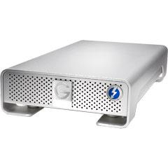 HGST 0G03053 [G-DRIVE Thunderbolt USB 3.0 4000GB Silver JP]
