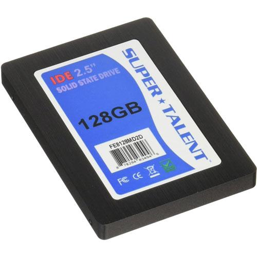 SUPER TALENT DuraDrive ET3 FE8128MD2D [IDE/PATA 2.5インチSSD 128GB MLC]
