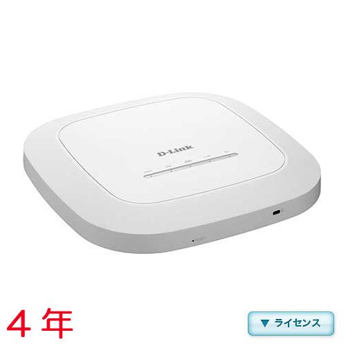 D-Link DBA-1510P-LC4 [DBA-1510P用年間ライセンス(4年間 245ポイント)]