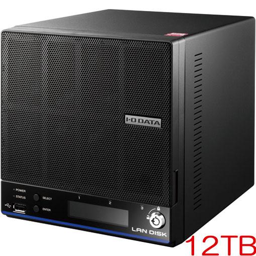 アイオーデータ HDL2-H12 [「拡張ボリューム」採用 2ドライブビジネスNAS 12TB]