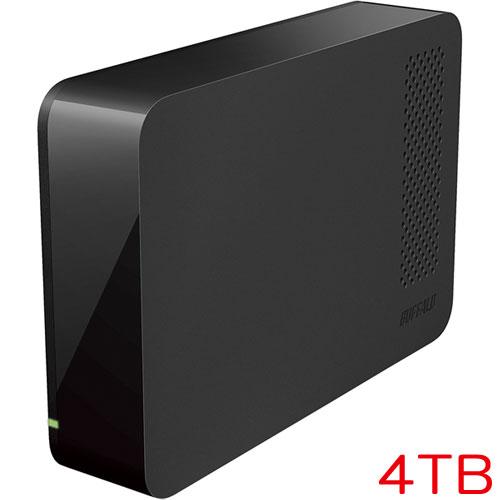 バッファロー HD-LC4.0U3/N [外付ハードディスク USB3.0 PC&TV両対応 省エネ機能付 4TB ブラック]