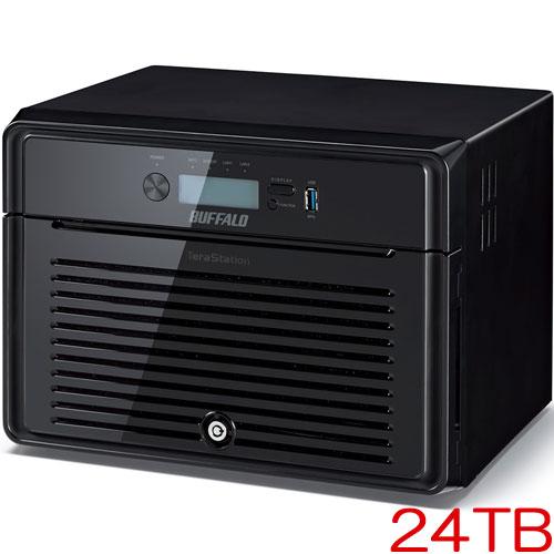 バッファロー TeraStation 5800DN TS5800DN2408 [管理者・RAID機能 8ドライブNAS 24TB]