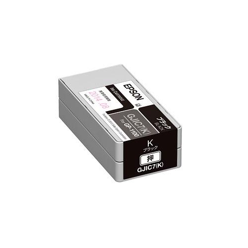 エプソン GJIC7K [GP-1100用 インクカートリッジ(ブラック)]