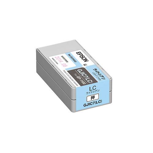 エプソン GJIC7LC [GP-1100用 インクカートリッジ(ライトシアン)]