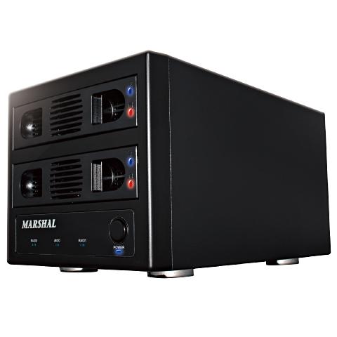 MARSHAL MAL352U3RS3 [最大12TB RAID機能 HDD2台ケース USB3.0]