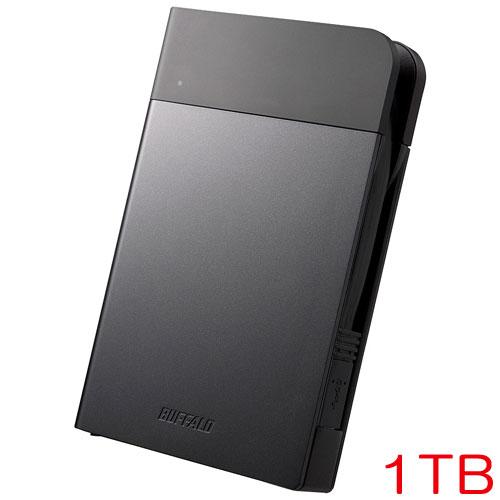 MiniStation HD-PZN1.0U3-B [ICカード対応 耐衝撃ポータブルHDD 1TB ブラック]