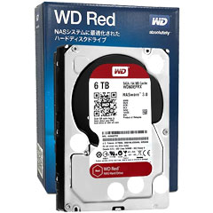 WD60EFRX [WD Red(6TB 3.5インチ SATA 6G 5400rpm 64MB)]