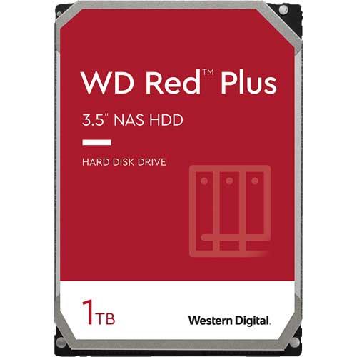 ウエスタンデジタル WD10EFRX [WD Red Plus(1TB 3.5インチ SATA 6G 5400rpm 64MB CMR)]