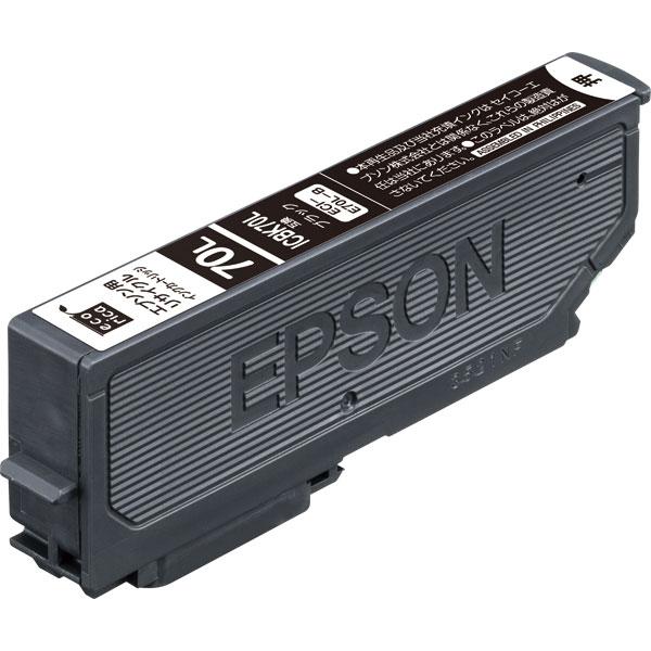 エレコム ECI-E70L-B [エコリカ リサイクルインク/EPSON/ICBK70L互換/ブラック]