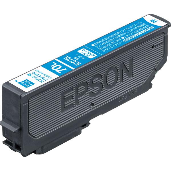 エレコム ECI-E70L-C [エコリカ リサイクルインク/EPSON/ICC70L互換/シアン]