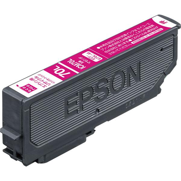 エレコム ECI-E70L-M [エコリカ リサイクルインク/EPSON/ICM70L互換/マゼンタ]