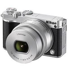 ニコン Nikon 1 J5 標準パワーズームレンズキット シルバー