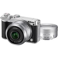 ニコン Nikon 1 J5 ダブルレンズキット シルバー