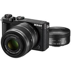Nikon 1 J5 ダブルズームレンズキット ブラック