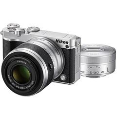ニコン Nikon 1 J5 ダブルズームレンズキット シルバー