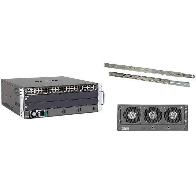 NETGEAR XCM8903SK-10000S [M6100 3スロットシャーシスイッチスターターキット]