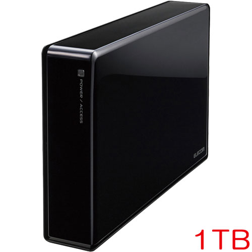 エレコム ELD-REN010UBK [3.5インチ外付HDD/WD Red/USB3.0/1TB/法人用]