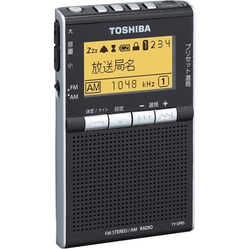 東芝 TY-SPR5(K) [AM/FMラジオ (ブラック)]