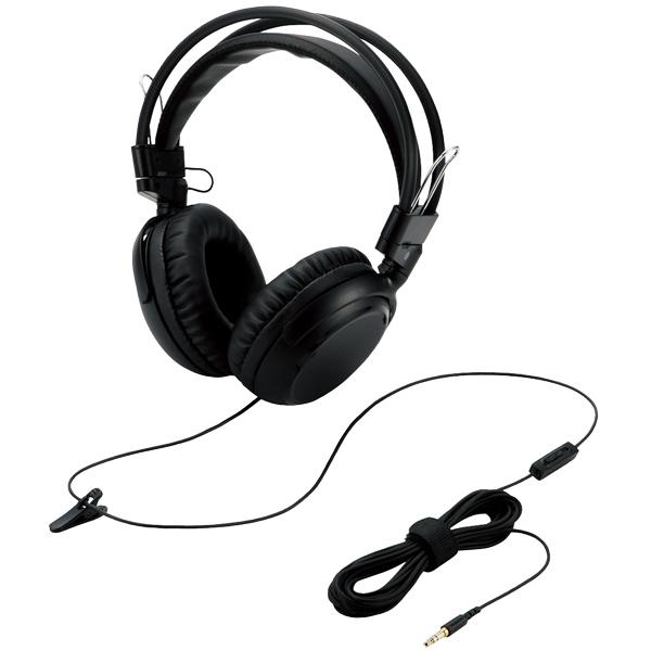 エレコム EHP-TVOH0350BK [テレビ用ヘッドホン/オーバーヘッド/40mmドライバ/ブラック]