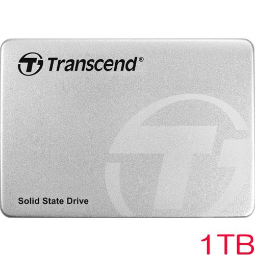 """トランセンド TS1TSSD370S[1TB SSD370S 2.5""""SATA3 MLC アルミ筐体]"""