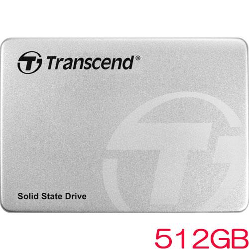 トランセンド TS512GSSD370S [512GB SSD370Sシリーズ 2.5インチ SATA3 MLC搭載 アルミ筐体]