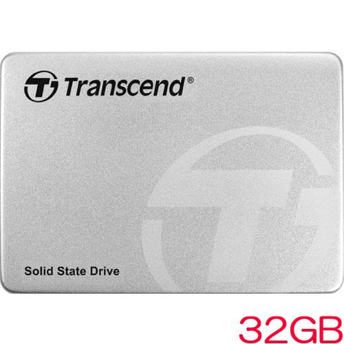 トランセンド TS32GSSD370S [32GB SSD370Sシリーズ 2.5インチ SATA3 MLC搭載 アルミ筐体]