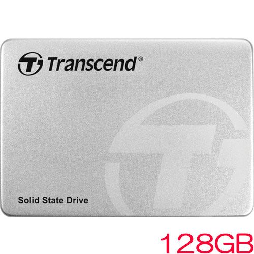 トランセンド TS128GSSD370S [128GB SSD370Sシリーズ 2.5インチ SATA3 MLC搭載 アルミ筐体]