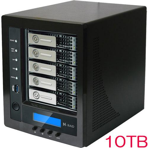 ヤノ販売 NR5800M-10T [N-RAID 5800M 10TB]