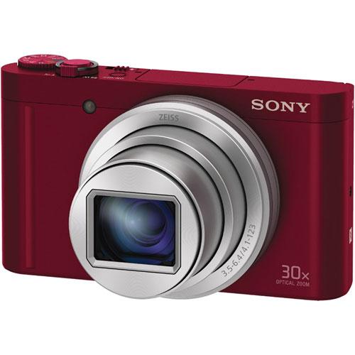 ソニー(SONY) DSC-WX500/R [デジタルカメラ Cyber-shot WX500 レッド]