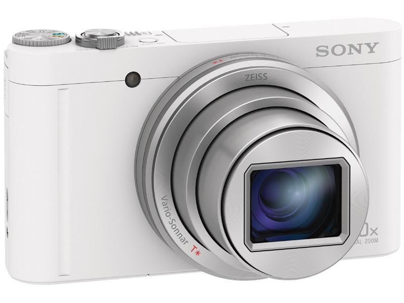 SONY デジタルスチルカメラ Cyber-shot WX500 ホワイト DSC-WX500/W(DSC