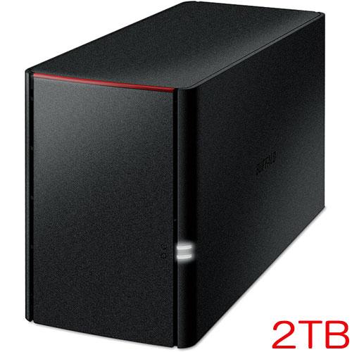 バッファロー LinkStation LS220D0202C [リンクステーション RAID機能搭載 ネットワーク対応HDD 2TB]