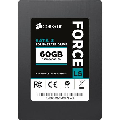 コルセア CSSD-F60GBLSB [SSD Force Series LS 2.5インチ 60GB SATA3 MLC]