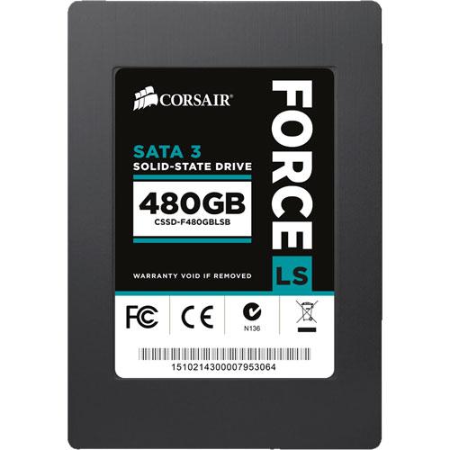 コルセア CSSD-F480GBLSB [SSD Force Series LS 2.5インチ 480GB SATA3 MLC]