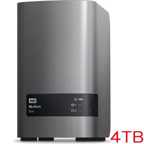 ウエスタンデジタル WDBLWE0040JCH-JESN [RAIDストレージ My Book Duo 4TB 3年保証]