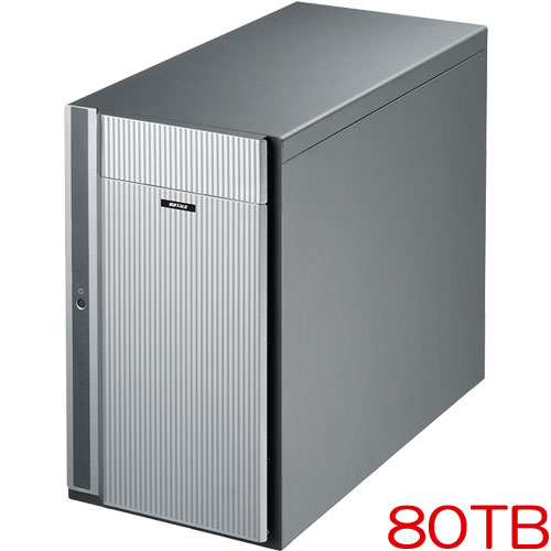 バッファロー HD-DH080T/R6 [Thunderbolt2 RAID6対応HDD 10ドライブ 80TB]