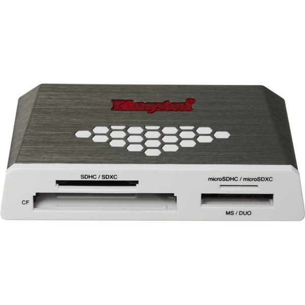 キングストン Kingston カードリーダー FCR-HS4 [USB3.0 All-in-One Media Card Reader G4]