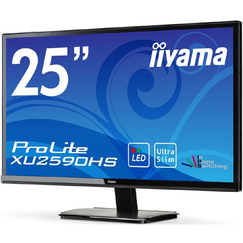イーヤマ ProLite XU2590HS-B1 [25型ワイド液晶ディスプレイ XU2590HS ブラック]