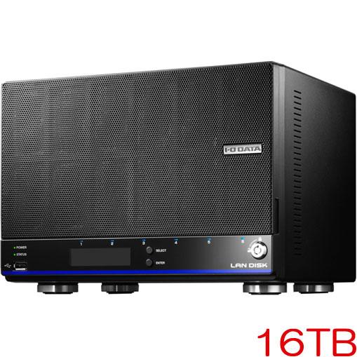 HDL4-HEX HDL4-H16EX [「拡張ボリューム」採用 4ドライブビジネスNAS 16TB]
