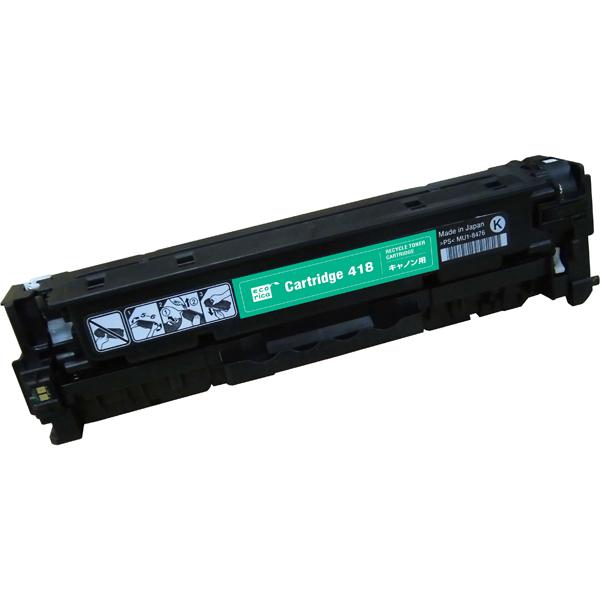 エレコム ECT-CCAT418B [エコリカ リサイクルトナー/CANON/CRG-418BLK対応]