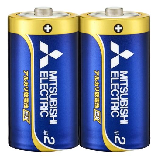三菱電機 アルカリEX LR14EXD/2S [アルカリ乾電池 単2 2個入]