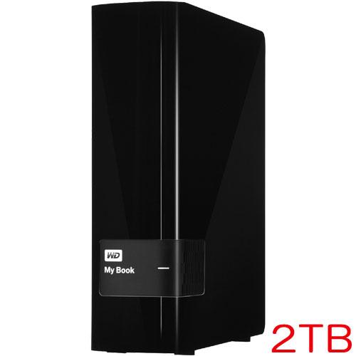 ウエスタンデジタル WDBFJK0020HBK-JESN [外付けハードディスクドライブ「My Book」2TB 3年保証]