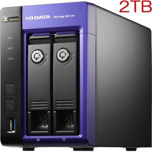 アイオーデータ HDL-Z2WL2I2 [Core i3/WSS2012R2 Std 2ドライブNAS 2TB]