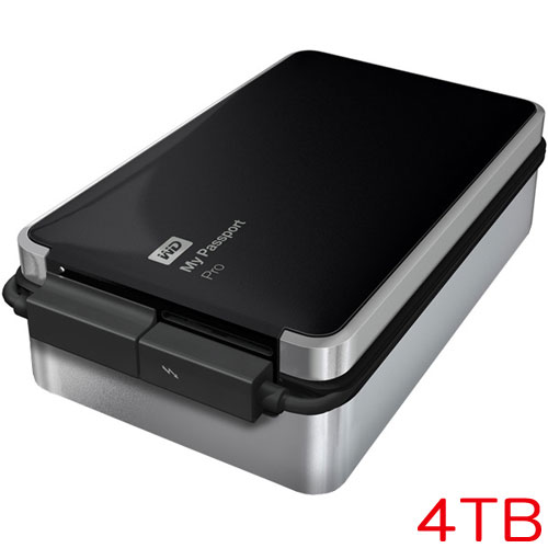 ウエスタンデジタル WDBRNB0040DBK-JESN [My Passport Pro 4TB]