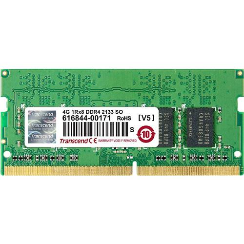 トランセンド TS512MSH64V1H [4GB DDR4 2133 SO-DIMM 1Rx8 (512Mx8) 1.2V]