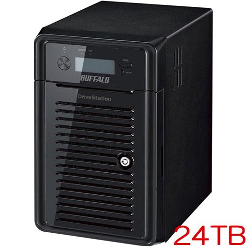 バッファロー HD-HN024T/R6 [Thunderbolt2搭載 RAID6 超高速HDD  24TB]