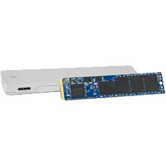 OWC OWCSSDAP2A6K240 [240GB Aura Pro 6G SSD + Envoy Pro Upgrade Kit for MacBook Air 2012 Edition]