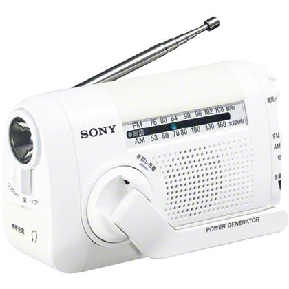 ソニー(SONY) ICF-B09/W [FM/AMポータブルラジオ ホワイト]